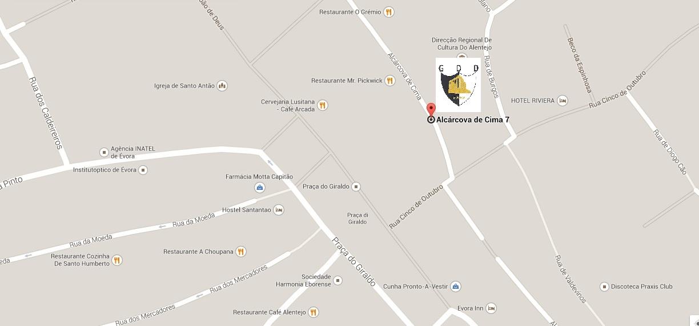 Mapa GDD