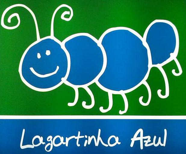 Logo Lagartinha Azul
