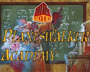 Planeswalker Academy Logo